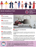 Cover of our layesy newsletter